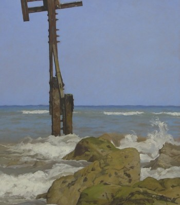1Sheringham, 122 x 61cm, Oil on Canvas