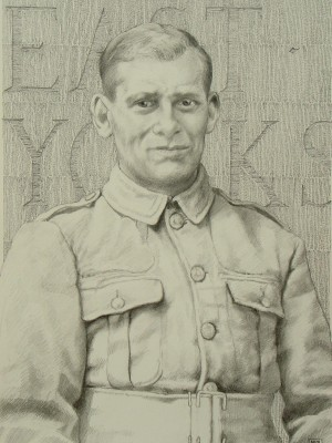 4Robert's Relative, 30 x 26cm, Pencil on Paper