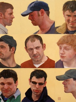 6Confraternity, 61 x 61 Oil on Board